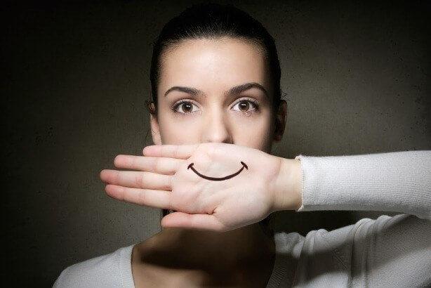 depressão-sorridente